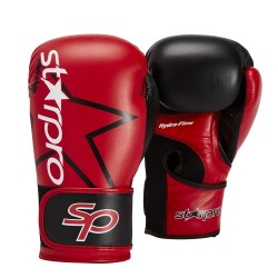 Starpro Star SP Training Boxhandschuhe Black Red