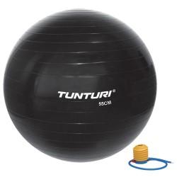 Tunturi Gymnastikball schwarz 55cm