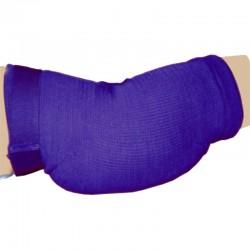 Ellenbogenschoner Blau Klettverschluss