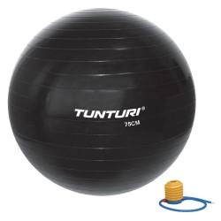 Tunturi Gymnastikball schwarz 75cm