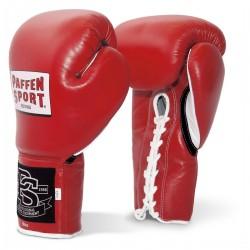 Paffen Sport Pro Classic Wettkampf Boxhandschuhe Rot