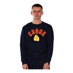 Kronk Gloves Applique Sweatshirt Navy