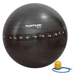 Tunturi Gymnastikball schwarz Anti Burst 90cm
