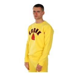 Kronk Gloves Applique Sweatshirt Yellow