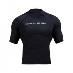 Abverkauf Hayabusa Haburi Rashguard Shortsleeve Black