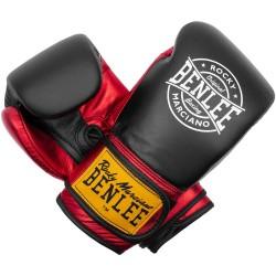 Benlee Metalshire Boxhandschuhe Leder Black Red