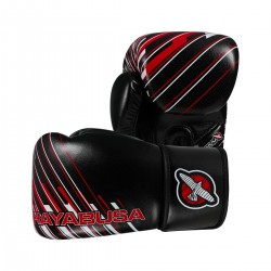 Abverkauf Hayabusa Ikusa Charged 10oz Gloves Black Red