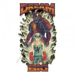 Abverkauf Justyfight Dream Big MMA T-Shirt