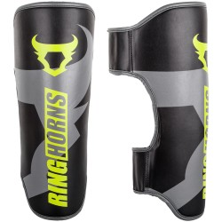 Ringhorns Charger Shinguards Black Neo Yellow
