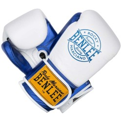 Benlee Metalshire Boxhandschuhe Leder White Blue