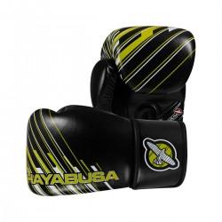 Hayabusa Ikusa Charged 14oz Gloves Black Lime Green