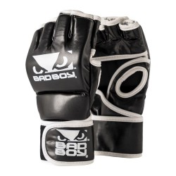 Bad Boy MMA Handschuhe ohne Daumen Black White
