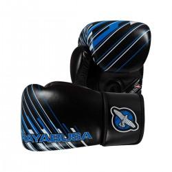 Hayabusa Ikusa Charged 12oz Gloves Black Blue
