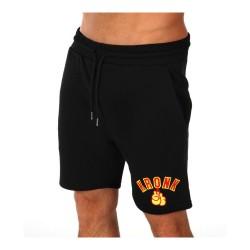 Kronk Gloves Applique Jog Shorts Black