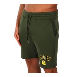 Kronk Gloves Applique Jog Shorts Military Green