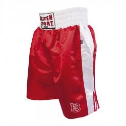 Paffen Sport Pro Profi Boxerhose Rot Weiss