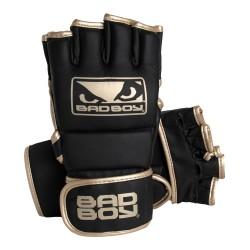 Bad Boy MMA Handschuhe mit Daumen Black Gold
