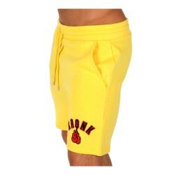 Kronk Gloves Applique Jog Shorts Yellow