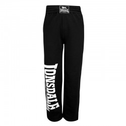Lonsdale Rafty Herren Jogging Pants Black