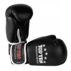 Top Ten SUPERFIGHT 3000 Leder Boxhandschuh schwarz