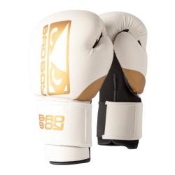 Bad Boy Boxhandschuhe Zeus White Gold