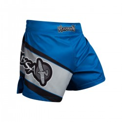Hayabusa Kickboxing Shorts Black Blue