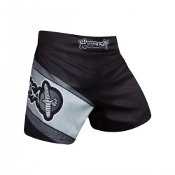 Hayabusa Kickboxing Shorts Black Grey