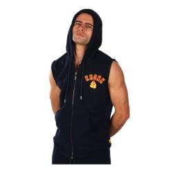Kronk Gloves Applique Zip Hoodie SL Navy