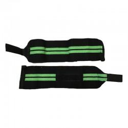 Handgelenksbandagen Wristbands Elastisch Schwarz Grün