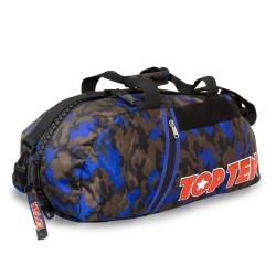 Top Ten Rucksack Tasche 55cm Camo Blau