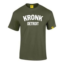Kronk Detroit T-Shirt Military Green