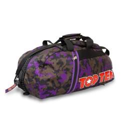 Top Ten Rucksack Tasche 55cm Camo Lila