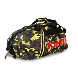 Top Ten Rucksack Tasche 55cm Camo Gelb