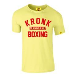 Kronk Training Camp Slim Fit T-Shirt Vintage Yellow