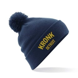 Kronk Detroit Bobble Ski Hat Navy