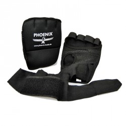 Abverkauf Phoenix Neopren Gel Handbandage 190cm Schwarz