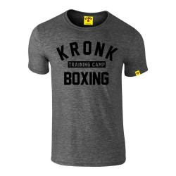 Kronk Training Camp Slim Fit T-Shirt Heather Charcoal