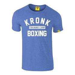 Kronk Training Camp Slim Fit T-Shirt Heather Royal Blue