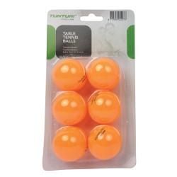 Tunturi Tischtennisbälle 6er orange