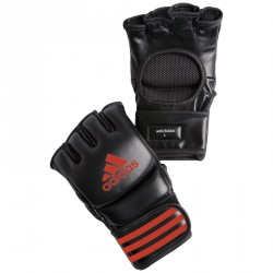 Abverkauf Adidas Ultimate Fight Glove Black Red ADICSG041