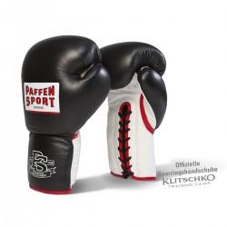 Paffen Sport Pro Heavy Hitter Sparring Boxhandschuhe Schwarz Weiss