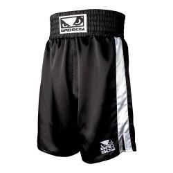 Bad Boy Boxing Short Black White