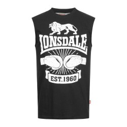 Lonsdale Singlet Cleator Black