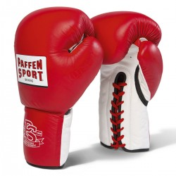 Paffen Sport Pro Heavy Hitter Sparring Boxhandschuhe Rot