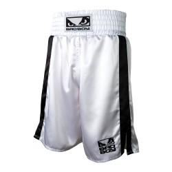 Bad Boy Boxing Short White Black