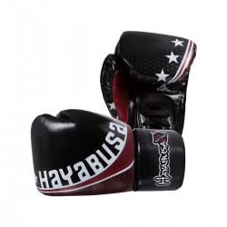 Abverkauf Hayabusa Pro Muay Thai 8oz Lace Gloves Black