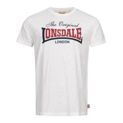 Lonsdale T-Shirt Aldingham White