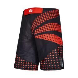 Phoenix PX MMA Shorts Schwarz Rot