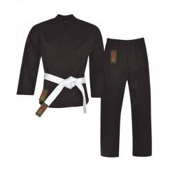 Karate Anzug Schwarz Einsteigeranzug Junior