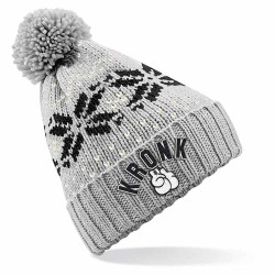 Kronk Bobble Ski Hat Grey